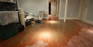 Water Damage Lillington in basement
